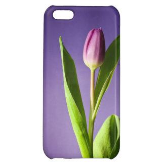 Purple tulip iPhone 5C cover
