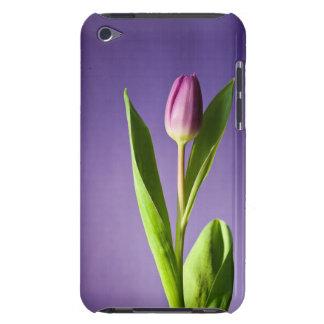 Purple tulip iPod touch cover