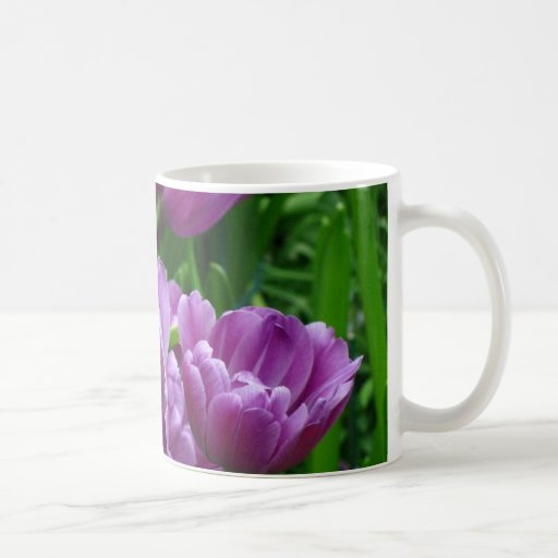 Purple Tulip Mug