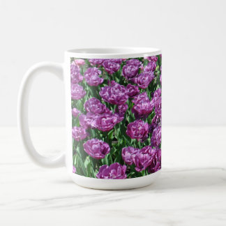 Purple Tulips Mug