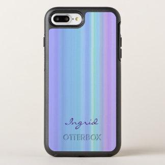 Purple Turquoise Blue Green OtterBox Symmetry iPhone 8 Plus/7 Plus Case