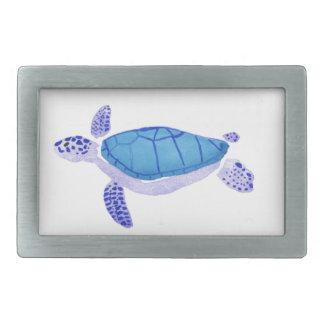 Purple Turtle Belt Buckles
