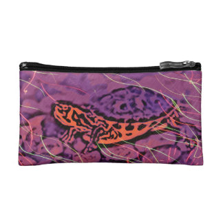 Purple Turtle Cosmetic Bag