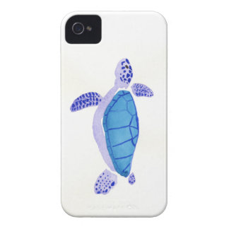 Purple Turtle iPhone 4 Cover