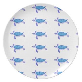 Purple Turtle Plate