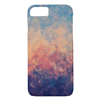 Purple Twilight on the Lake Watercolor iPhone 8/7 Case