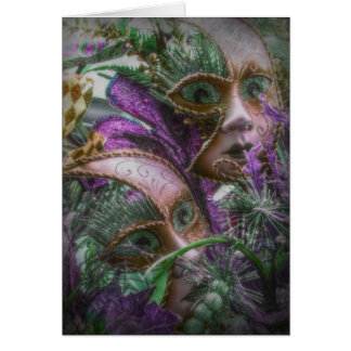 Purple Twins Card