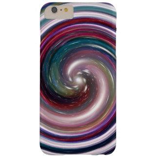 Purple Twirl Galaxy Nebula Barely There iPhone 6 Plus Case