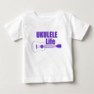 Purple Ukulele Baby T-Shirt