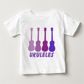 purple ukuleles baby T-Shirt