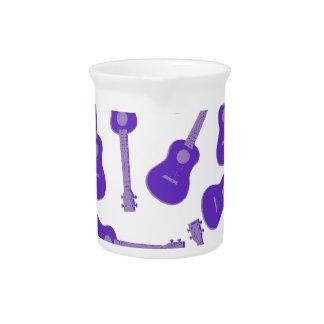 purple Ukuleles Pitcher