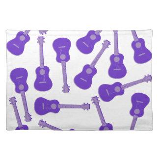 purple Ukuleles Placemat