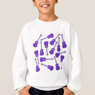 purple Ukuleles Sweatshirt