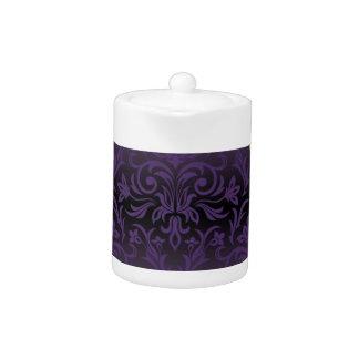 purple,ultra violet,damask,vintage,pattern,gold,