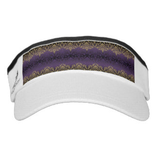 purple,ultra violet,damask,vintage,pattern,gold,ch visor