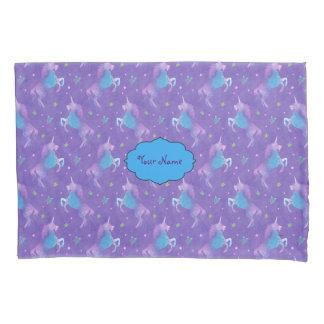 Purple Unicorns Pink Stars Pillowcase
