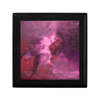 """PURPLE UNIVERSE ABSTRACT"" KEEPSAKE BOX"