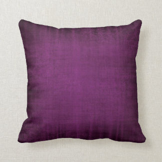 Purple Velvet look Cushion