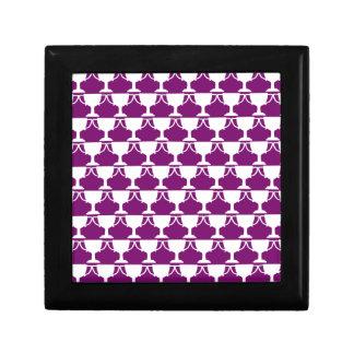 Purple Victorian Lace Gift Box