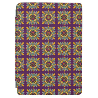 Purple Victorian Tile Design iPad Air Cover