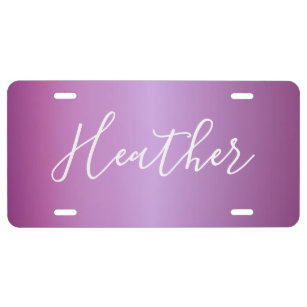 Create Your Own Licence Plates Zazzle Ca