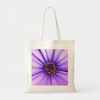 Purple Violet Daisy Flower Macro