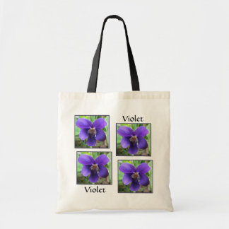 Purple Violet Tote Bag
