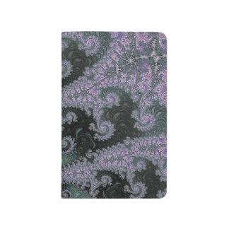 Purple Wanderer Pocket Journal Design