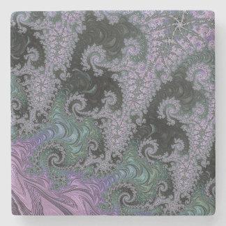 Purple Wanderer Stone Coaster Design