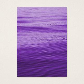 Purple Water Business Card