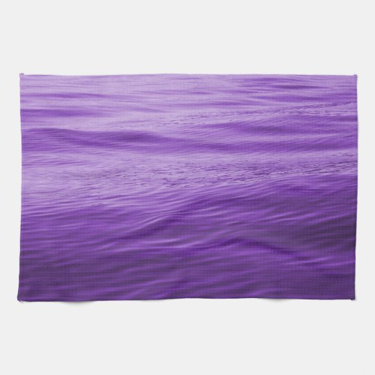 Purple Water Hand Towels