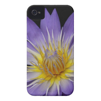 Purple Water Lily Cell Phone Case