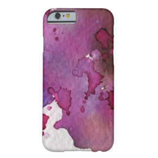Purple Watercolor Background Barely There iPhone 6 Case