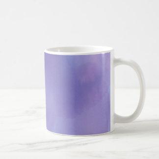 Purple Watercolor Coffee Mug
