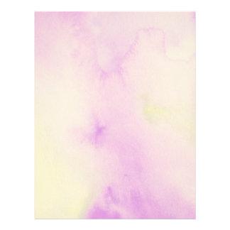Purple Watercolor Page
