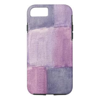 Purple watercolor phone case