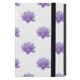 Purple Watercolor Succulent Case