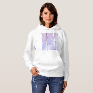 Purple Watercolour Break Hoodie