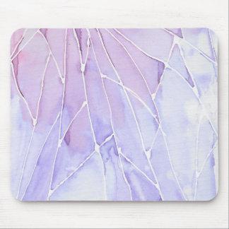 Purple Watercolour Mousepad