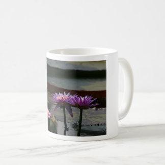 Purple Waterlily Lotus Mug