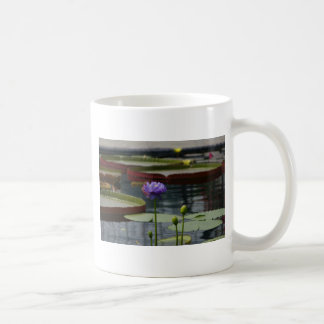 Purple Waterlily Mug