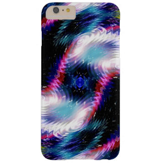 Purple Wave Galaxy Nebula Barely There iPhone 6 Plus Case