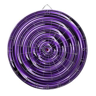Purple Waves Dartboards