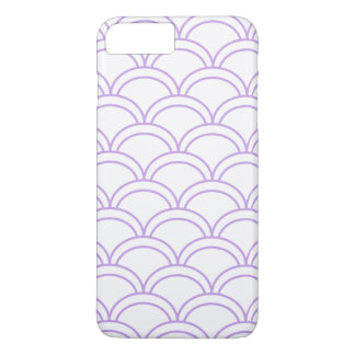 Purple Waves Pattern Nautical iPhone 7 Plus Case