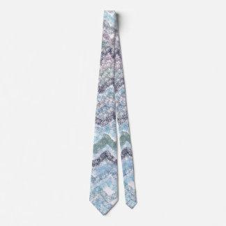 Purple wavesb Tie