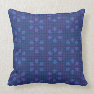 Purple Weave Pattern Accent Pillow