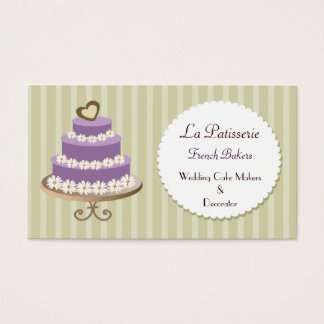 Custom Cake Maker Business Cards Zazzle Ca