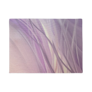 Purple weeds Doormat