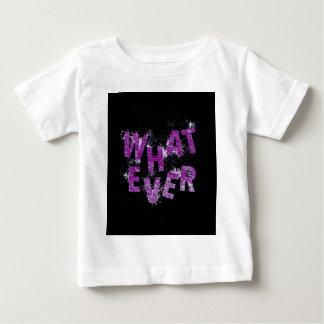 Purple Whatever Baby T-Shirt