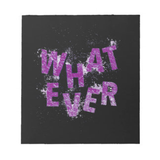 Purple Whatever Notepad